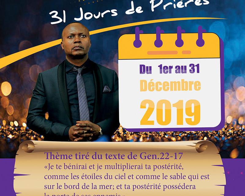 ACCR organise 31 Jours de prières